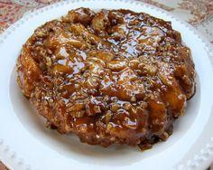 Cinnamon Caramel Pecan Bread - Quick and Easy only 4 ingredients. Greatfor breakfast brunch or dessert!