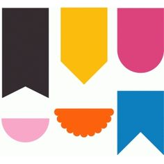 Silhouette Design Store - View Design #78355: pennants                                                                                                                                                                                 Mehr