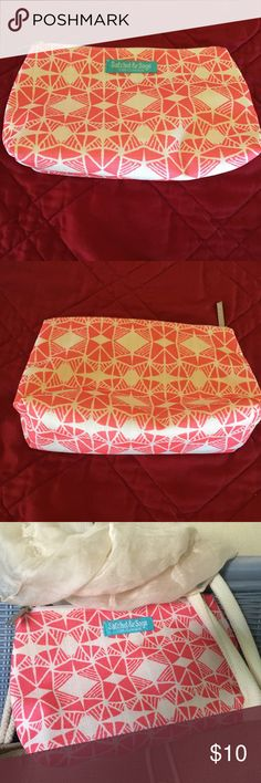 """Clinique Make - Up Bag Clinique Make - Up Bag. Satchel & Sage H 6 """" L. 8""""  . Brand New Clinique Bags Cosmetic Bags & Cases"""
