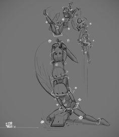 .: 3D in 2D :. by Hikari151