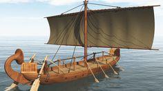 Egyptian Ships - Solar Ships In Ancient Egypt