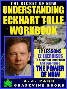 Understanding Eckhart Tolle Workbook: 12 Lessons 12 Exercises to Stop Your Inner Chat and Experience The Power of Now! by A.J. Parr, http://www.amazon.com/dp/B00J57TQZO/ref=cm_sw_r_pi_dp_BfwPtb127TS61