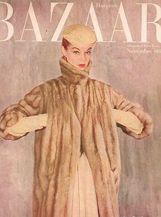 Vintage Harper's Bazaar <3 Jean Patchett.