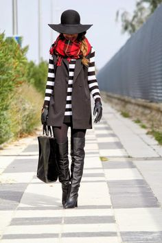 Scarf and vest