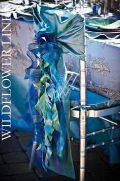 Blue & Purple - Wildflower Linen