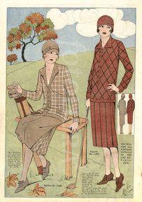 20s Fashion, Golf Fashion, Fashion History, Vintage Fashion, Classic Fashion, French Fashion, Fashion Ideas, Vintage Golf, Moda Vintage