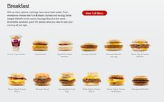 Digital Catch Up: This Egg McMuffin Ad is on to Something Fruit And Yogurt Parfait, Sausage Biscuits, Mcmuffin, Mcdonalds, Oatmeal, Blogging, Eggs, Tasty, Digital