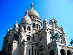 Basílica del Sagrado Corazón en #París - Euroviajar.com