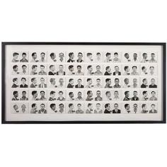 Large Collection Of Vintage Mugshots (Men)   From a unique collection of antique and modern photography at http://www.1stdibs.com/furniture/wall-decorations/photography/