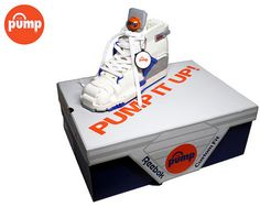 Reebok Pump made with Legos