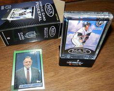 1990 TOPPS A. Bartlett Giamatti Baseball tribute card with acrylic Card Armor pedestal 3575S