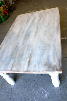 After Staining I Painted It With Ascp in Pure White and Some Kind Of | Restain…