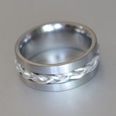 Custom made titanium ring manufacturers in South Africa Titanium Rings, Wedding Bands, Silver Rings, Wire, Engagement Rings, Gold, Jewelry, Jewellery Making, Enagement Rings