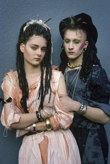 I think the New Romantic style in the 80's is closely related to the Dark Cabaret style of today.
