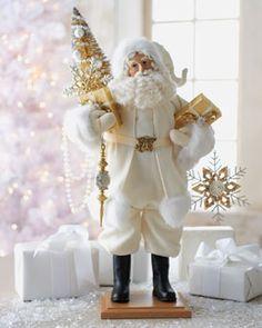 "Lynn Haney ""Winter's Touch"" Santa Figure"