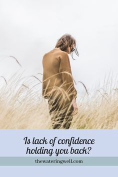 Is lack of confidence holding you back? - The Wateringwell Prayer Quotes, My Prayer, Jeremiah 1, Lack Of Confidence, Nothing To Fear, Praying To God, Your Back, Know Who You Are, Hold You