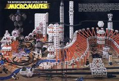 Mego Corp's Micronauts Micropolis Toy Display by Alexis Dyer, via Flickr | awwww yea!