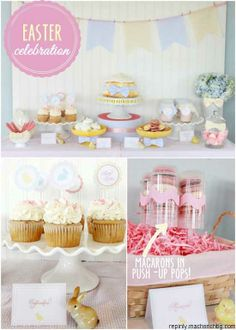 Celebrate Easter with a sweet dessert table!