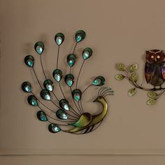 Good Beautiful Collection Of Décor And Home Furnishings Available At Dunelm.  Jewel Peacock Metal Wall ...