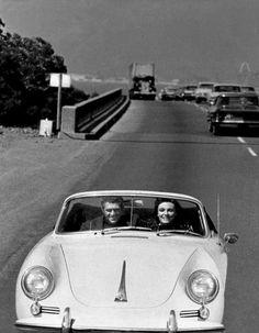 Steve McQueen and Jacqueline Bisset in Bullitt (1968).