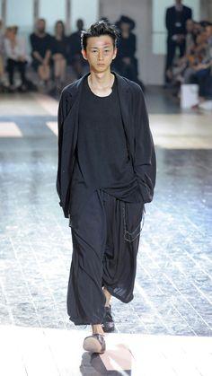 Yohji Yamamoto SS 2017 Menswear