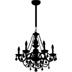 Chain Chandelier Decal ($75) ❤ liked on Polyvore featuring home, home decor, wall art, modern home accessories, modern wall art, modern home decor, modern wall decals and stick wall art