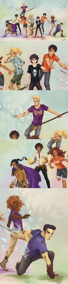 Who wants to do heroes of Olympus RP?! I wanna be Leo!!