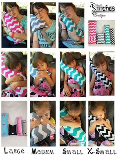 Design Your Own Seat Belt Pillow – Seatbelt Pillow – Travel Pillow – Car Seat Pillow – Carseat Pillow – Design Your Own CUSTOM – Neck Suppor – neck pillow diy Sewing Hacks, Sewing Crafts, Sewing Projects, Sewing Diy, Free Sewing, Fabric Crafts, Road Trip With Kids, Travel With Kids, Seat Belt Pillow