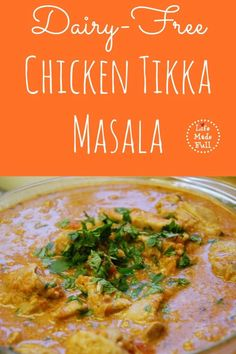Your whole family will love my chicken tikka masala! Delicious!