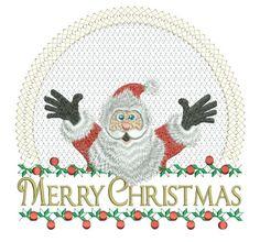 Surprise Santa 6x6