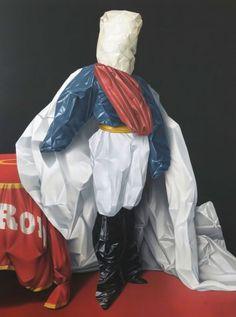 Eckart Hahn, Lord, 2010, Acryl auf Leinwand, 200 x 150 cm