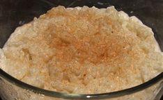 Swedish Rice Pudding Rice Desserts, Cream Cheese Desserts, Pudding Desserts, Sweets Recipes, Cooking Recipes, Crockpot Rice Pudding, My Dessert, Pumpkin Dessert, Vegetarian