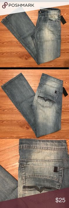 🆕Men's 30x34 Designer Buffalo David Bitton Jeans! 🔵Please CAREFULLY look at the pictures provided & read the following description to ensure your satisfaction🔵  >>>Jeans are missing size & style tag, as well as the rear BDB badge<<<  Other than this, these jeans are in excellent condition - Brand new with tags - Retail price $109  30x34 - Slim Bootcut Fit - Keem Style - Buffalo David Bitton Jeans Buffalo David Bitton Jeans Slim