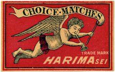 Match Box Label