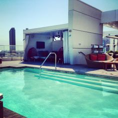 San Diego Andaz Rooftop Pool Bar