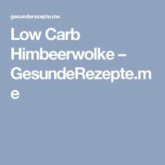 Low Carb Himbeerwolke – GesundeRezepte.me