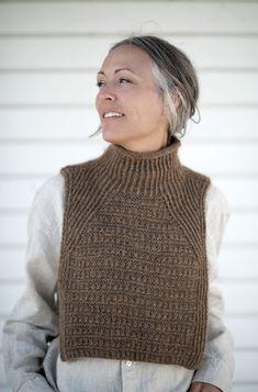Knitted Poncho, Knitted Shawls, Knit Vest, Knitting Yarn, Free Knitting, Pijamas Women, Collar Pattern, Alpacas, Knitting Accessories