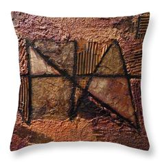 The Signature I. Throw Pillow for Sale by Agota Horvath