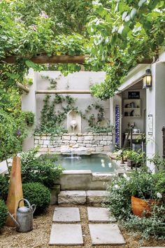 Gorgeous cottage garden in Greyton, Western Cape.