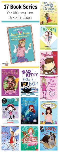 17 book series for kids who love Junie B. Jones
