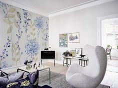 Mazury • Skandynawski - Do salonu - Kwiaty i rośliny - Fototapety - Plakaty • Pixers® • Żyjemy by zmieniać