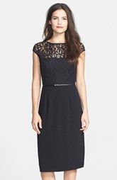 Marc New York by Andrew Marc Cotton Blend Midi Dress-Nordstro $138