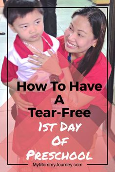 Learn how to have a tear-free 1st day of preschool with these easy tips! Prepare your preschooler how to face this day successfully by following these helpful tips. Save this to your parenting boards! #preschool #preschooler #firstdayofpreschool #tearfreefirstdayofpreschool #notearspreschool