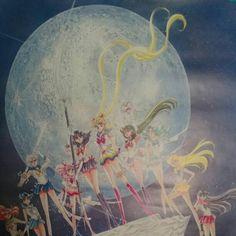 RARE Sailor Moon Poster NAKAYOSHI 40th Original Piuture Manga Anime Japan 71