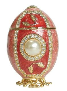 Faberge Imperial Russian Jewelled Egg