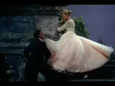 """Vera & Donald in """"It's A Lovely Day Today""""--What a lovely dance! And her dress flows like a dream."""