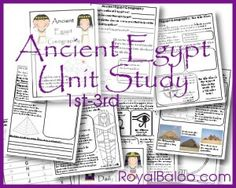 Ancient Egypt FREE printable 22 pages!