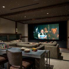 Beautiful Home Media Room Design
