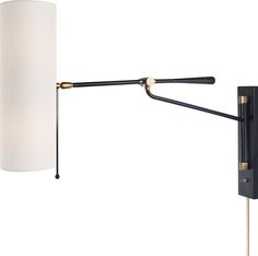 FRANKFORT ARTICULATING WALL LIGHT Circalighting.com.   I find these types of lights to be the most useful
