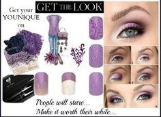 Pretty in purple!!